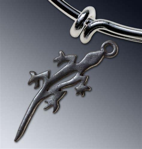 lizard charm gibson pewter