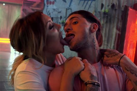 tattoo of us charlotte and bear charlotte crosby s face tattooed on stephen bear in shock
