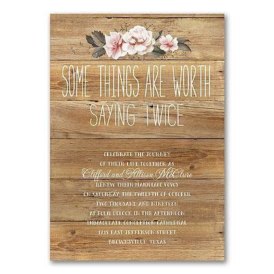 Wedding Announcement Order Of Names by 1000 Ideas About Vow Renewal Invitations On