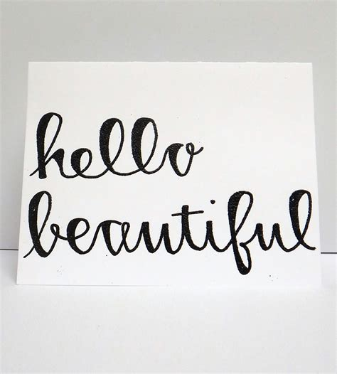 Kitchen Furniture List quot hello beautiful quot cards inactive cards amp stationery
