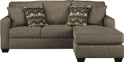 tweed couch tanacra tweed sofa chaise 1460218 ashley
