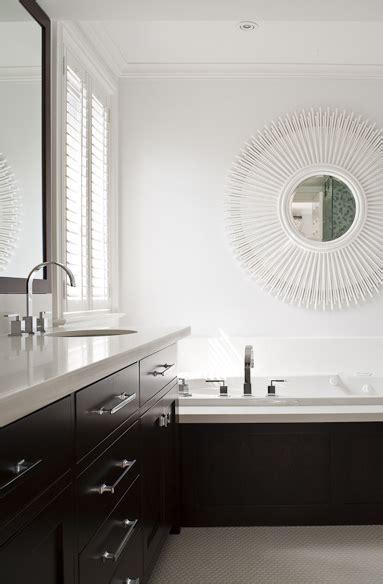 espresso vanity contemporary bathroom worts
