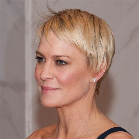 how to cut robin wright haircut short hairstyle robin wright style pinterest