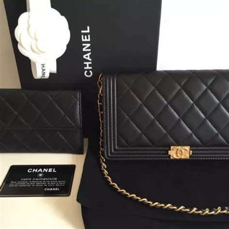 CHANEL   CHANEL BOY WALLET ON REMOVABLE CHAIN from Rustic's closet on Poshmark