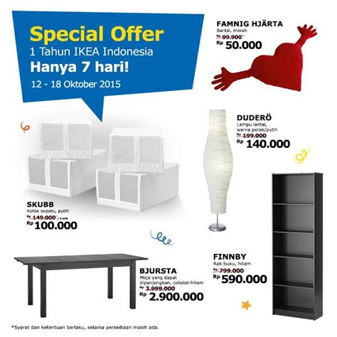 Ikea Coupons Special Offers 2015 Retailmenot   promo special offers ikea 1st anniversary 12 18 okt