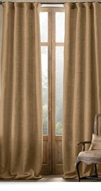 burlap linen curtains 25 best ideas about burlap kitchen curtains on pinterest