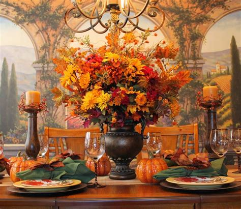 Fall Centerpieces For Dining Table 40 Amazing Fall Centerpieces For Dining Room Table