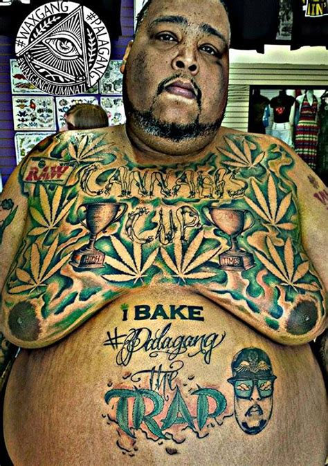 8 best craziest weed tattoos