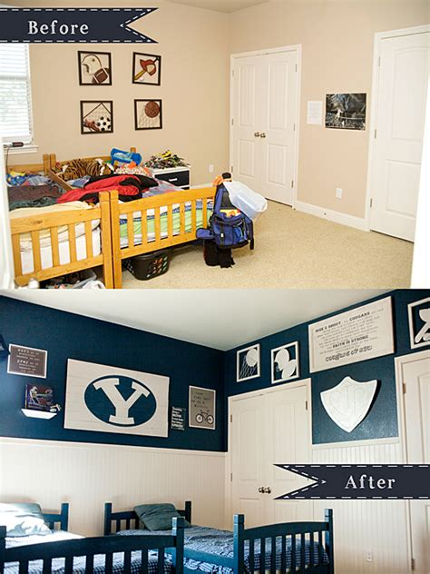 Diy Boy Room Decor by Diy Boys Room Reveal Ut Vs Byu