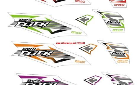 Striping Honda Beat Fi 2 striping motor honda beat fi click stikermotor net