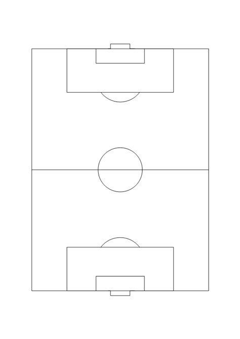 soccer pitch template soccer field template www pixshark images