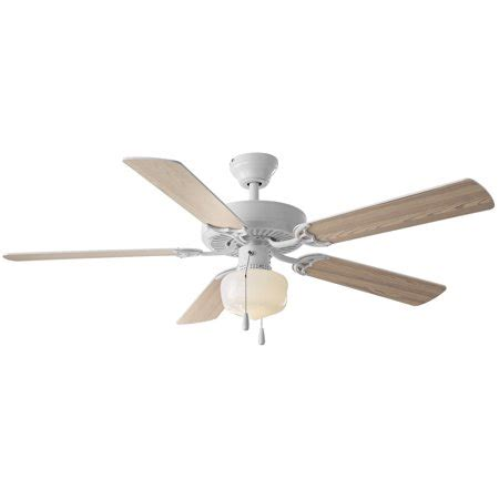 globe with fan 52 quot mainstays ceiling fan globe light white walmart com