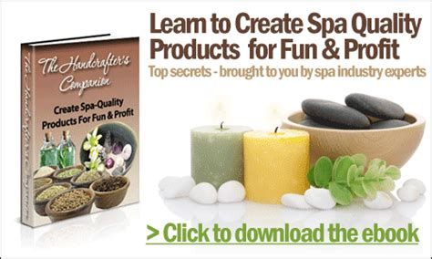 The Handcrafters Companion - at home spa recipes without preservatives uniqsource