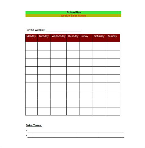 sales daily planner template sales plan template 11 free word excel pdf