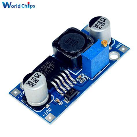 Xl6009 Adjustable Dc Dc Step Up Boost Module 5pcs lot xl6009 dc dc step up power supply booster module adjustable 3 32v to 5 35v voltage
