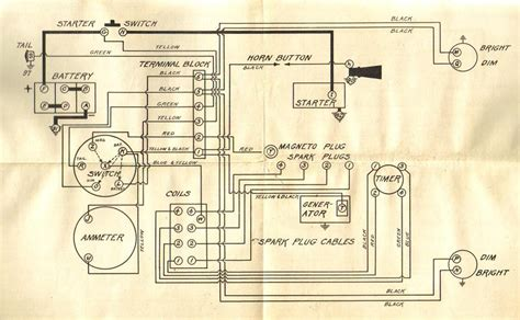 model t ford wiring diagrams free image wiring diagram