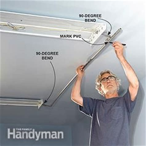 how to attach lights to surface how to wire a finished garage the family handyman metals and the family