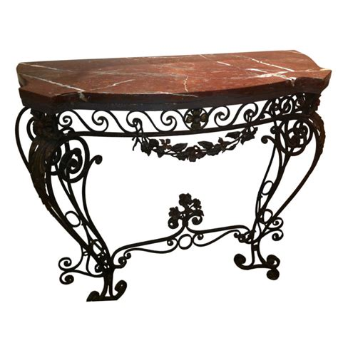 Iron Sofa Table Wrought Iron Sofa Table Homesfeed