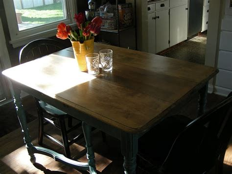 How To Refinish Kitchen Table 42 Best Refinishing Tables Images On Dining Room Tables Dining Tables And Kitchen