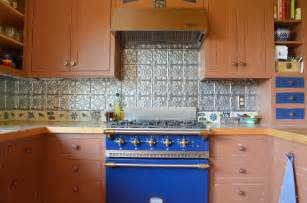 Rustic Kitchen Backsplash Ideas Stupendous Tin Tiles Backsplash Decorating Ideas Gallery