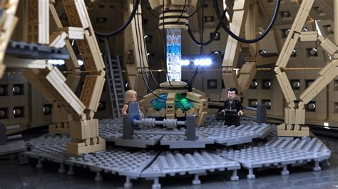 9th Doctor Tardis Interior by Lego Ideas Lego Ucs Tardis Console Room