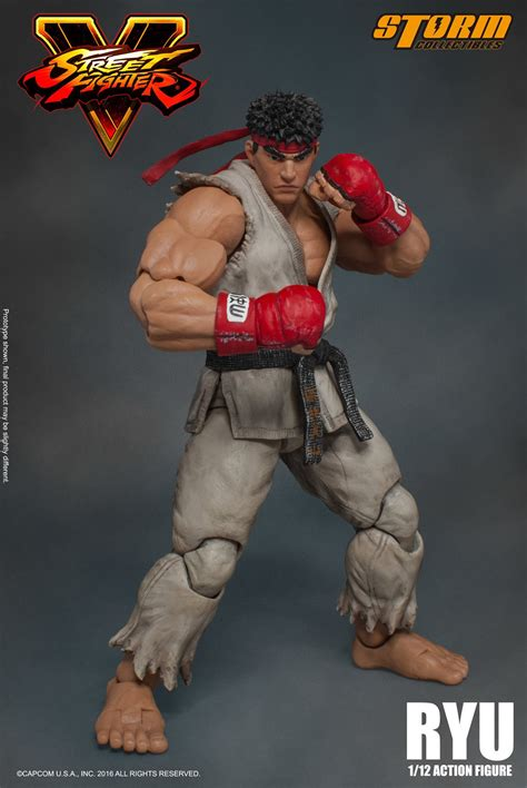v figures fighter v ryu figure by collectibles the