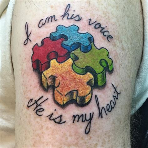 autism awareness tattoo designs 35 wonderful autism ideas showing awareness and