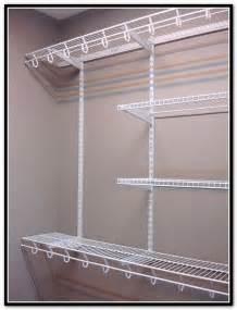 Lowes Closet Systems Rubbermaid Closet Shelving Home Design Ideas
