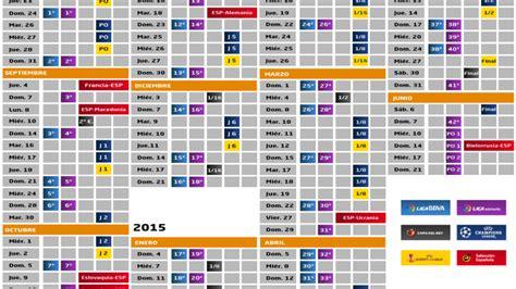 Calendario De Liga 1 Division As 237 Ser 225 La Liga 2014 15 Noticias Liga De F 250 Tbol