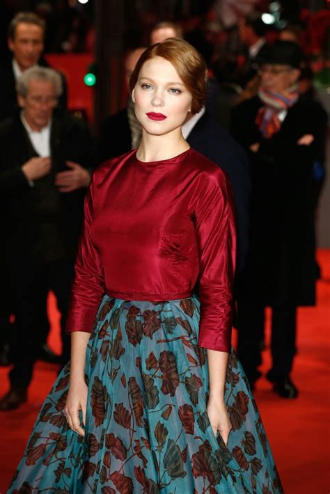 lea seydoux looks like how to master the matte red lip like lea seydoux haute