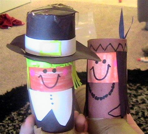 preschool crafts for thanksgiving day toilet roll
