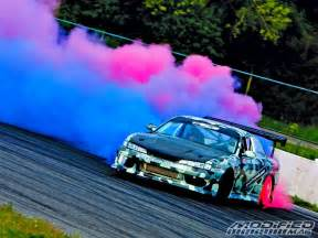 Colored Car Tires Burnout Cotton Colored Smoke Tires