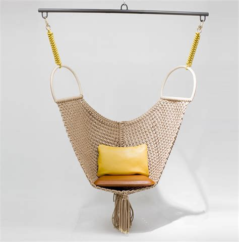 swing objects patricia urquiola s swing chair for louis vuitton objets