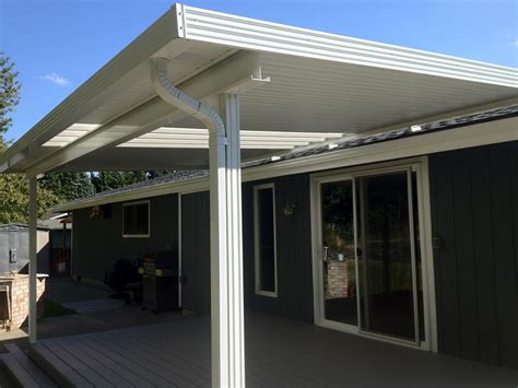 How To Roof A Patio Cover by Patio Covers Roof Mounted Exteriors West