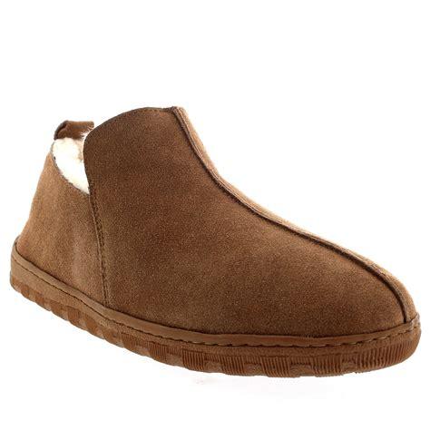 fur lined boot slippers mens australian sheepskin genuine fur lined boot rubber
