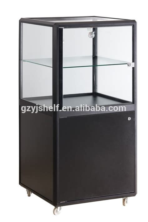 lockable glass display cabinet showcase arylic wine glass rack lockable glass display cabinets