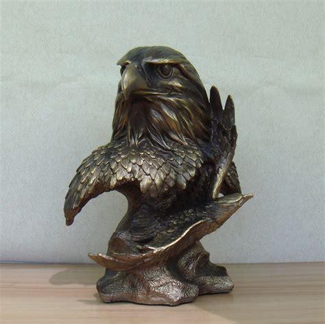Handmade Statues - aliexpress buy abstract hawk bust sculpture handmade
