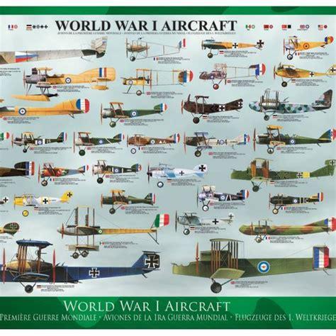 World War I Aircraft 1000 PC Eurographics Jigsaw Puzzle