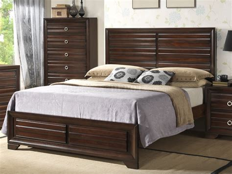 espresso bedroom furniture b310 bedroom set in espresso w options