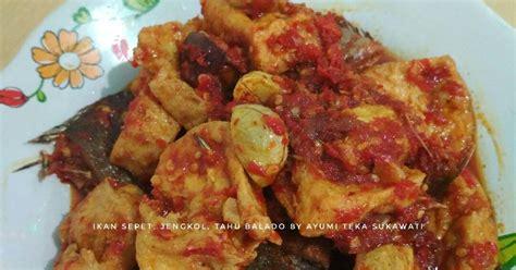 resep ikan asin balado enak  sederhana cookpad