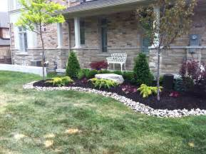 Low maintenance landscape ideas for front of house front door outdoor