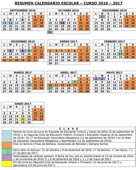 calendario curso 2016 2017 baleares calendario escolar 2016 2017 baleares tercer ciclo