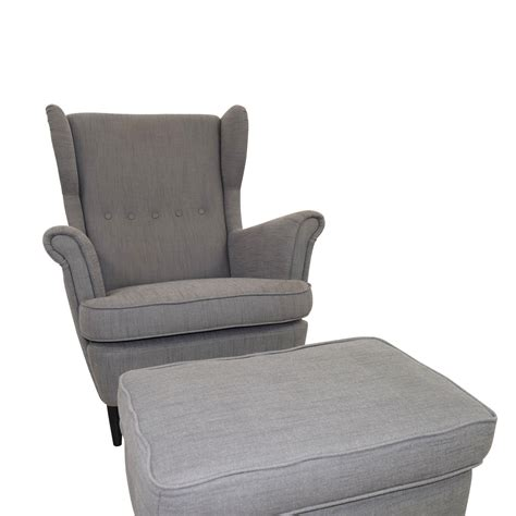 chair and ottoman ikea 62 ikea ikea grey wing chair and ottoman chairs