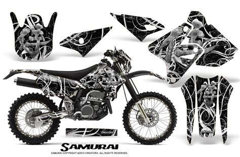 Decal Wheells Samurai Universal suzuki drz400 enduro creatorx graphics kit samurai white