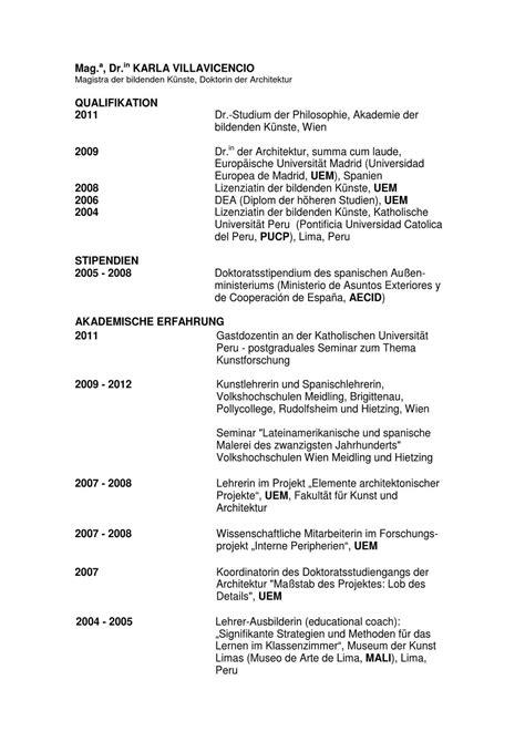 Lebenslauf Docs Lebenslauf By Karla Villavicencio Issuu