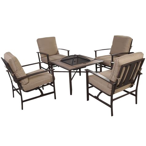 Convenience Boutique Outdoor Patio Furniture Set Chairs Firepit Chairs
