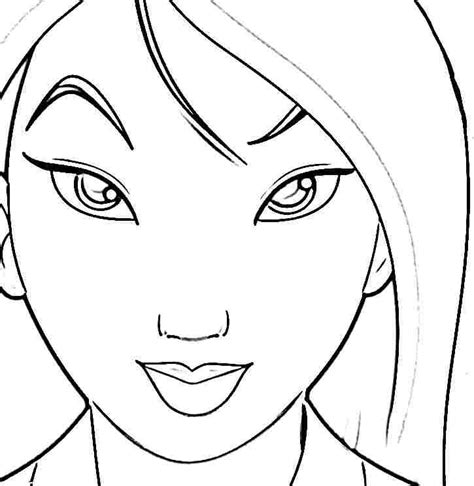 disney princess mulan coloring sheets printable free for