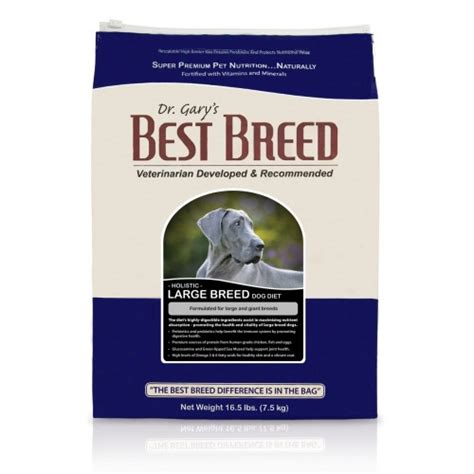 best food for large breeds dr gary s best breed food