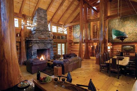 log cabin rooms luxury log cabin homes interior