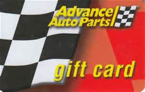 Advance Auto Parts Gift Card - advance auto parts ta cash gift card king